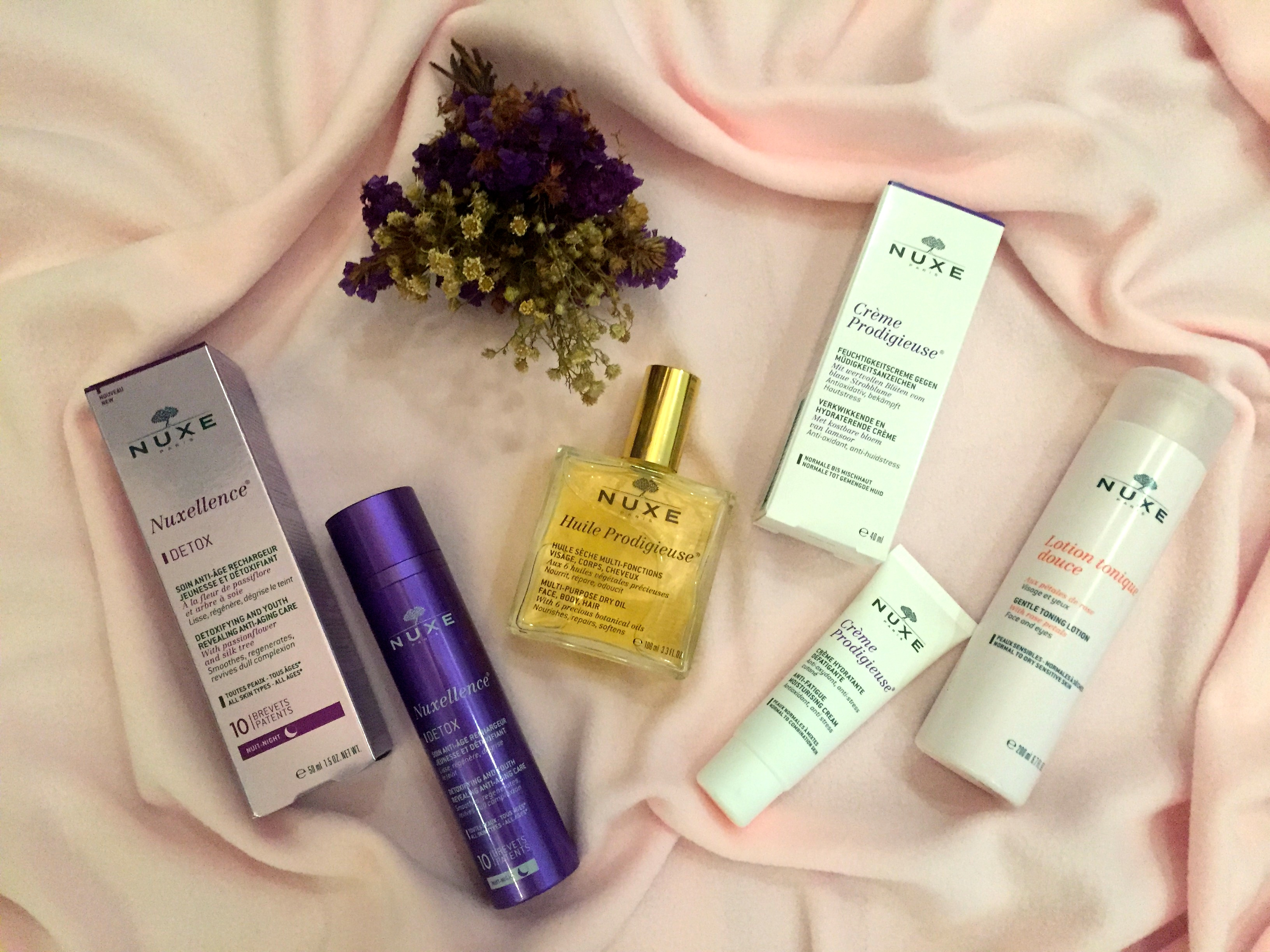 NUXE; Skin care from France