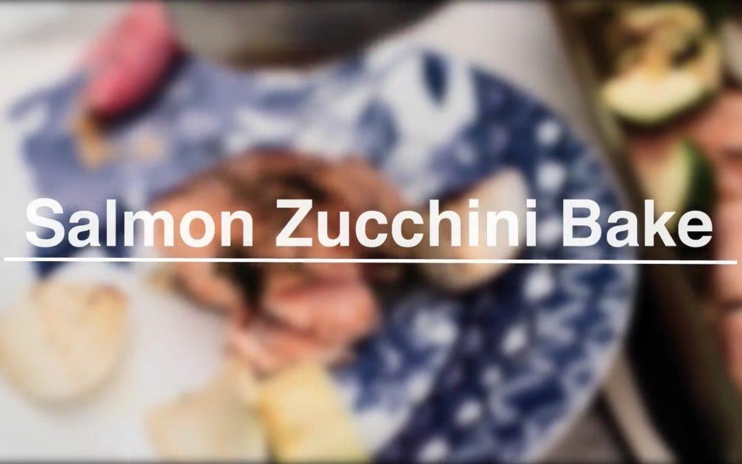 Salmon Zucchini Bake