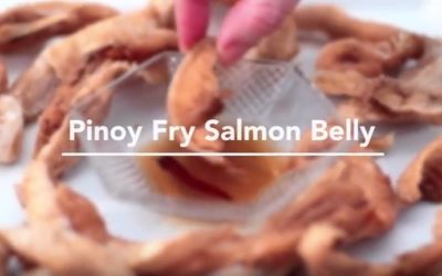 Pinoy Fry Salmon Belly