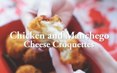 Chicken and Manchego Cheese Croquettes