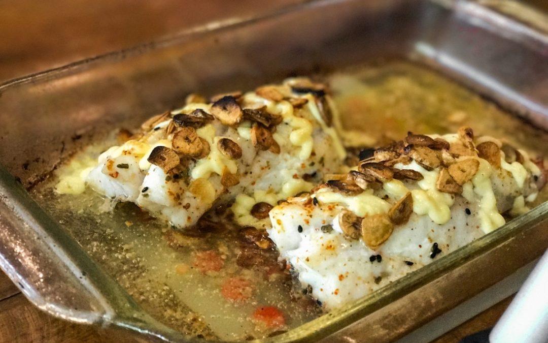 Baked Fish Japanese Style