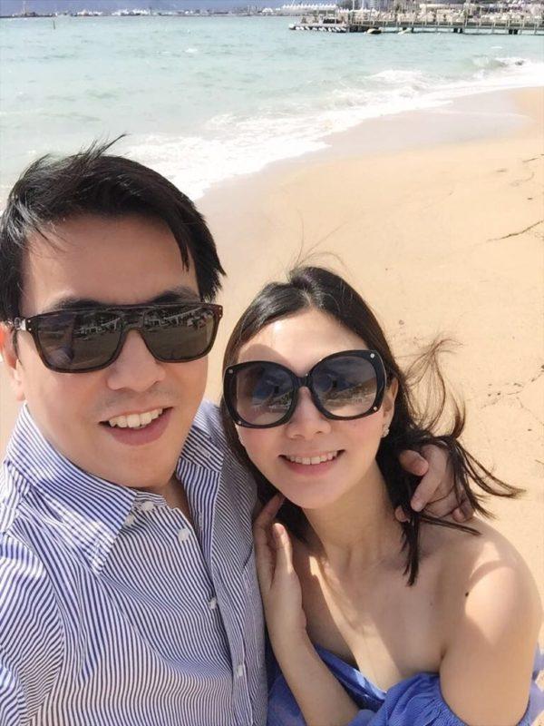 Kai with her husband, Bryan Chan Lim