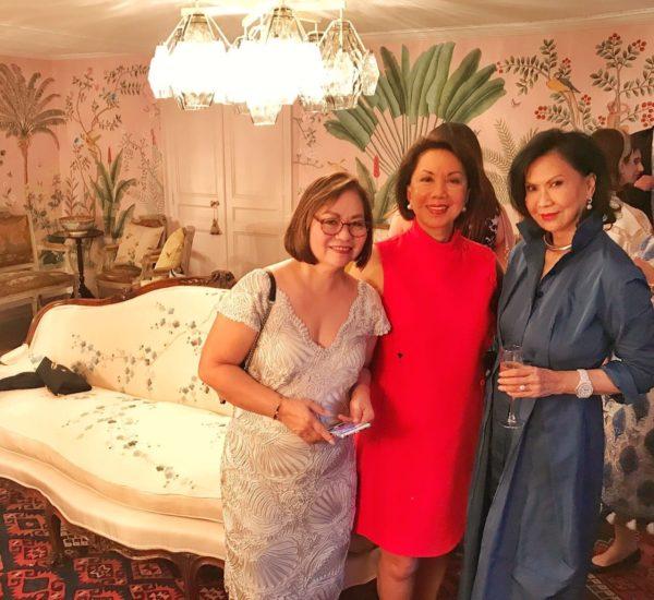 power ladies, thelma sioson-san juan, menchu katigbak and babette aquino