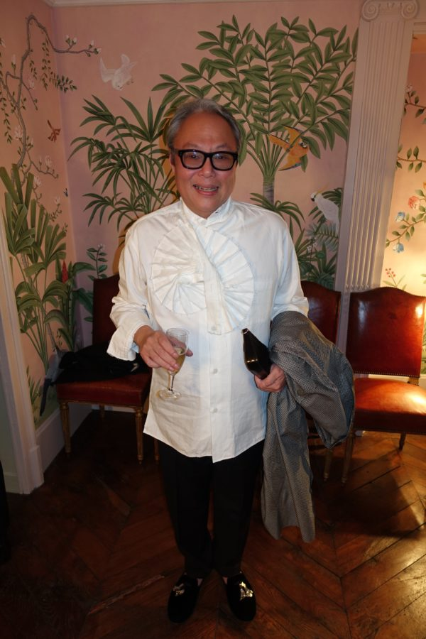 the ultra stylish, andrew gan in a top i am still lusting over!